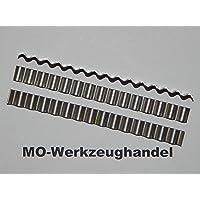 100pieza pavimento grapas/onda Conector, L: 70mm B: 6mm