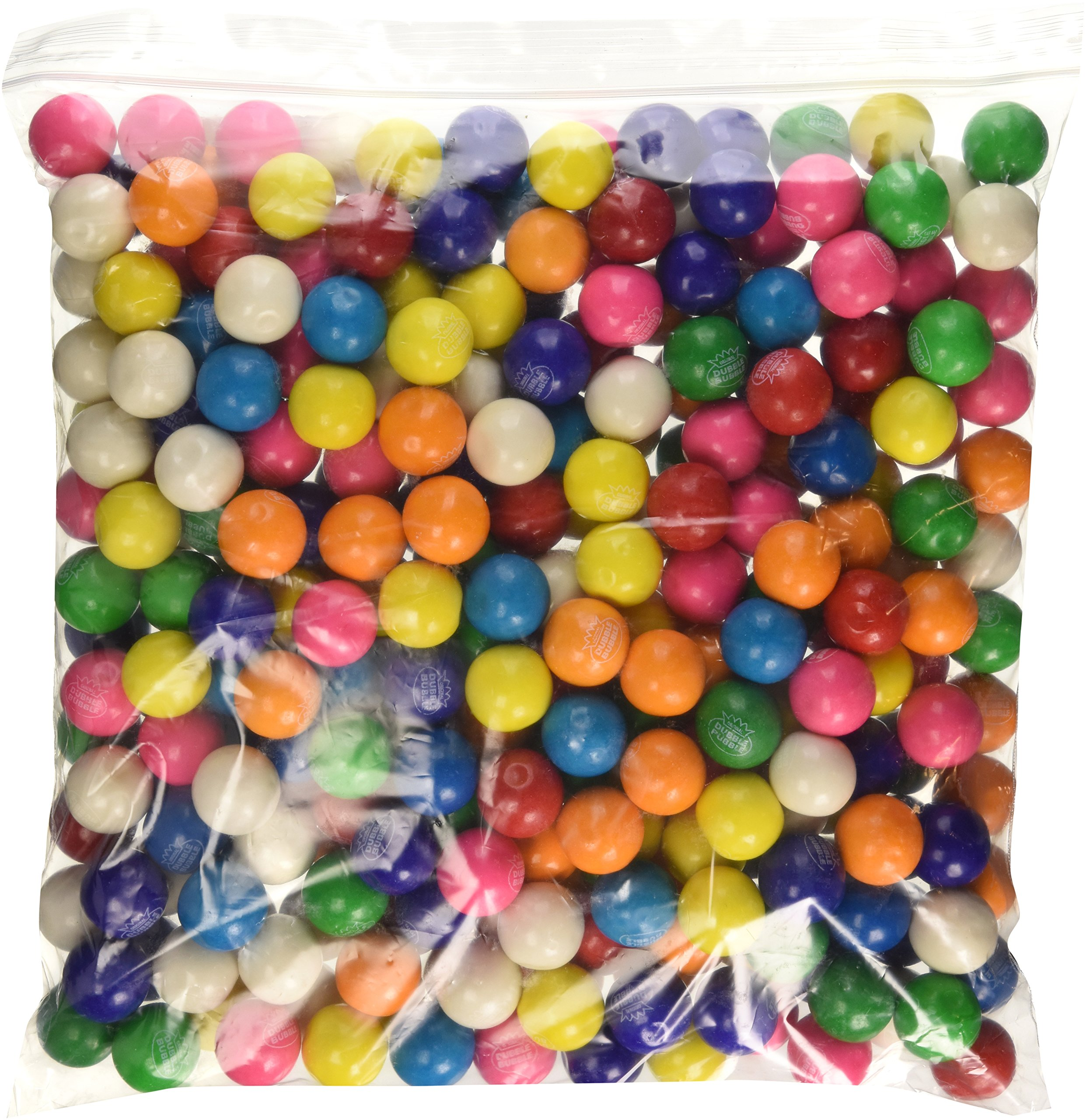 Dubble Bubble One Inch Gumballs Assorted Flavors 5 Pound Bag by FIRST CLASS VENDING