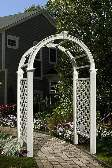 Exceptional VA68103 Livingston Arbor, White