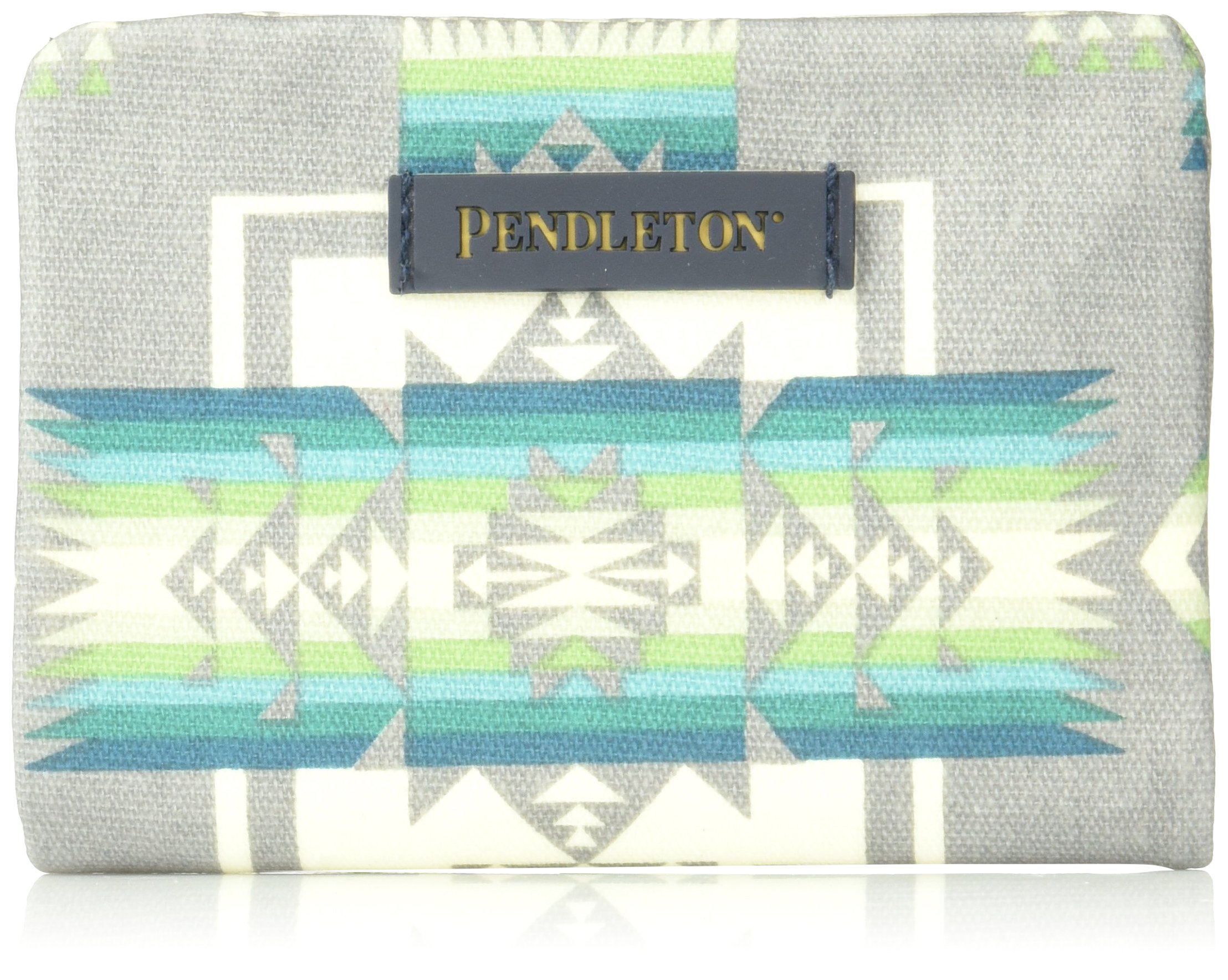 Pendleton Women's Canopy Canvas Accordion Wallet, Chief Joseph Grey, One Size