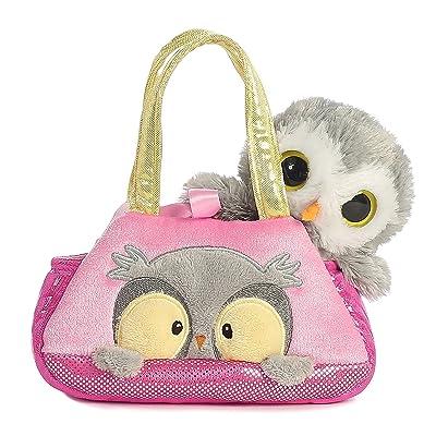 Aurora World Fancy Pals Peek-A-Boo Owl Pet Carrier: Toys & Games