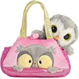 Aurora World Fancy Pals Peek-A-Boo Owl Pet Carrier