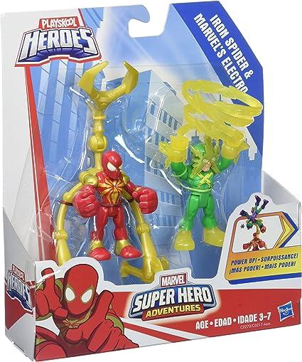 2.5/'/' Marvel Super Hero Squad Adventures Action Figure PlaySkool Heroe Kid Toys