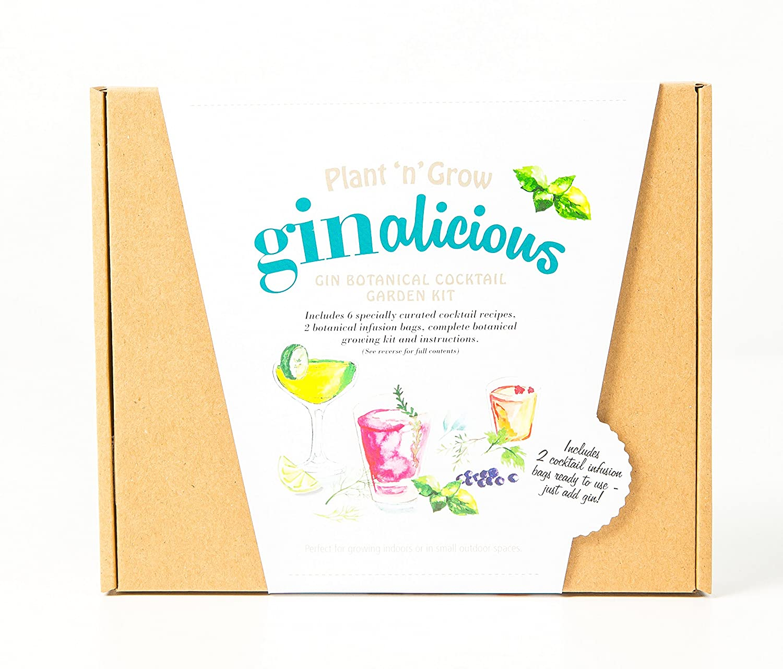 Ginalicious Gin Botanical Cocktail Garden Kit -