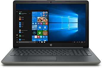 "HP 15-da0016la Laptop 15.6"" HD, Intel Core i7-8550U 1.8GHz, 4GB RAM, 1TB HDD, Gráficos Intel UHD 620, Windows 10"