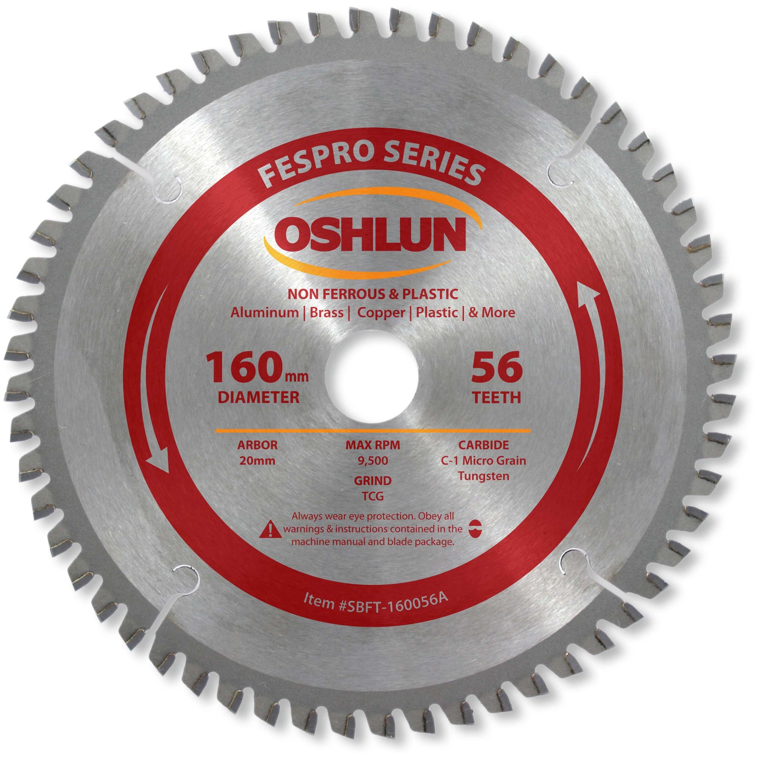 Disco Sierra OSHLUN SBFT 160056A 160mm 56T FesPro TCG no f