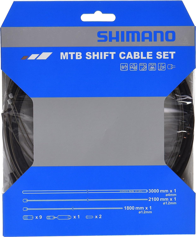SHIMANO MTB SUS Bicycle Shift Cable Set (Black)