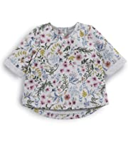 Mamas & Papas Floral Sweatshirt, Sudadera Bebé-para Niñas
