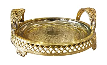 5aad56193c78db Buy Shubh Wedding Round Shape Traditional Basket for Anniversary ...