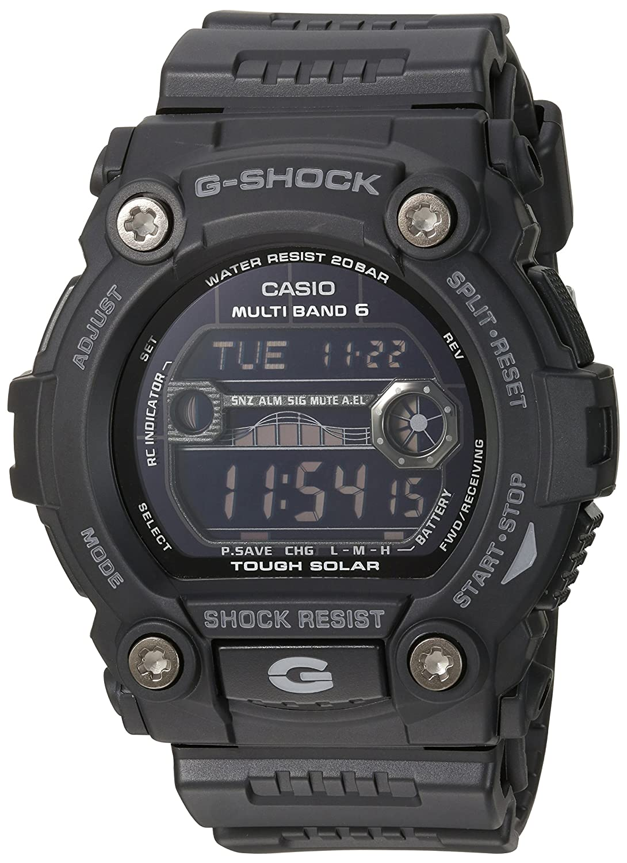 aca595164e82 Amazon.com  Casio Men s GW7900B-1 G-Shock Black Solar Sport Watch  Casio   Watches
