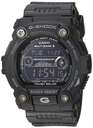 c15ddceeaa9 Amazon.com  Casio Men s GW7900B-1 G-Shock Black Solar Sport Watch ...