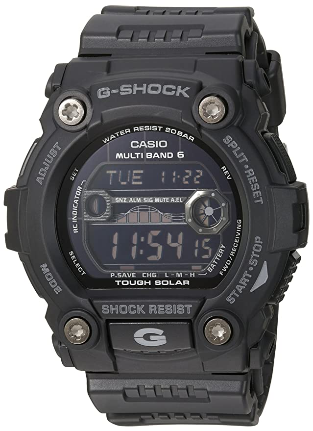Casio Men's GW7900B-1 G-Shock Black Solar Sport Watch