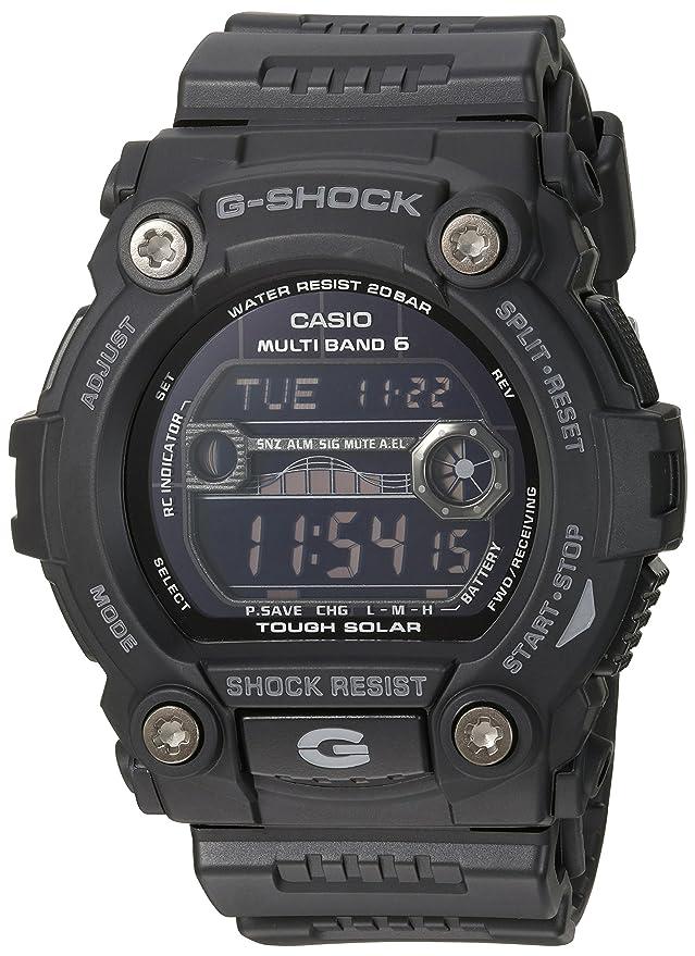 a35d82886e5833 Amazon.com: Casio Men's GW7900B-1 G-Shock Black Solar Sport Watch: Casio:  Watches