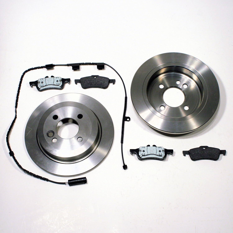 2 Bremsscheiben 4 Bremsbeläge MINI hintenHinterachse 259 mm unbelüftet