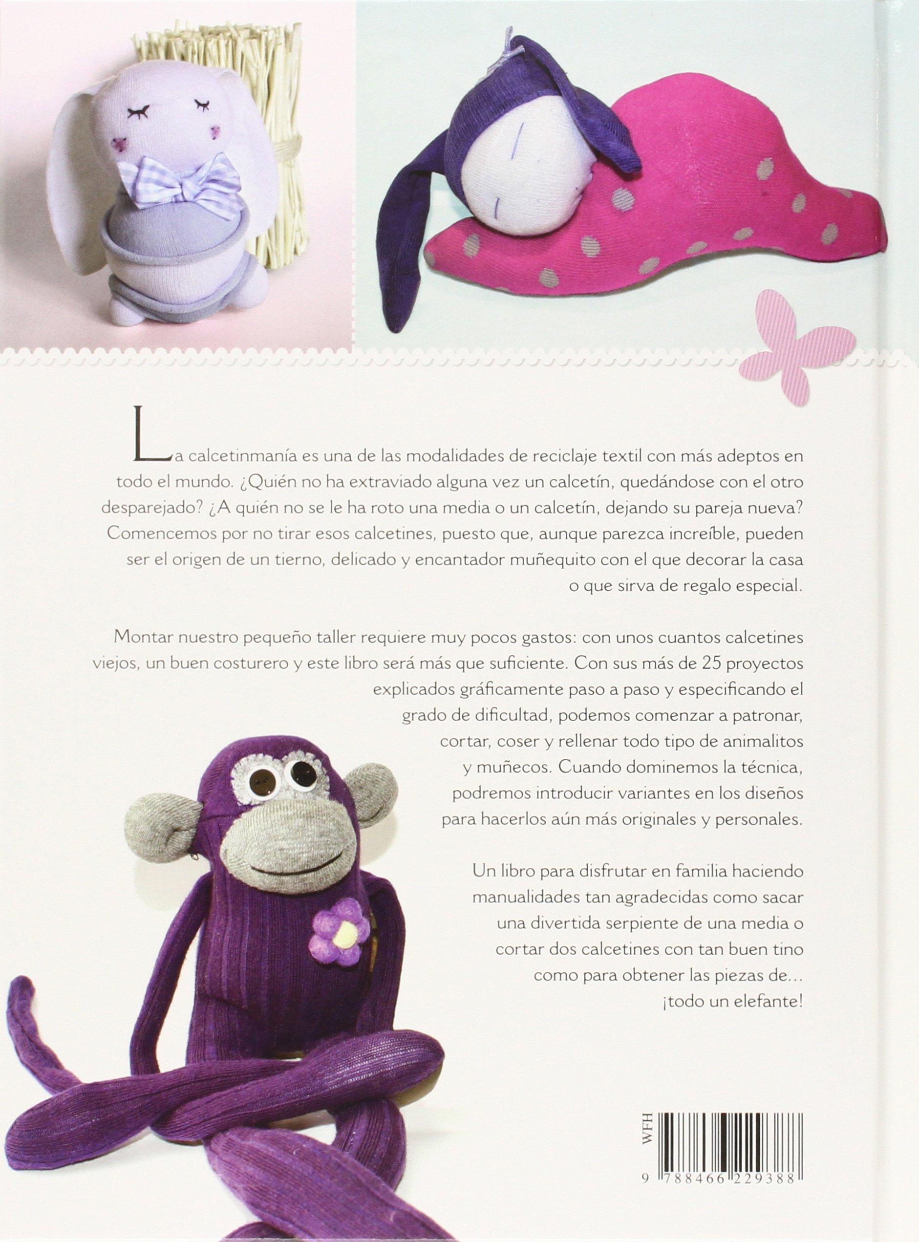 Muñecos con Calcetines: María Jesús;Equipo editorial Saiz Iglesias: 9788466229388: Amazon.com: Books