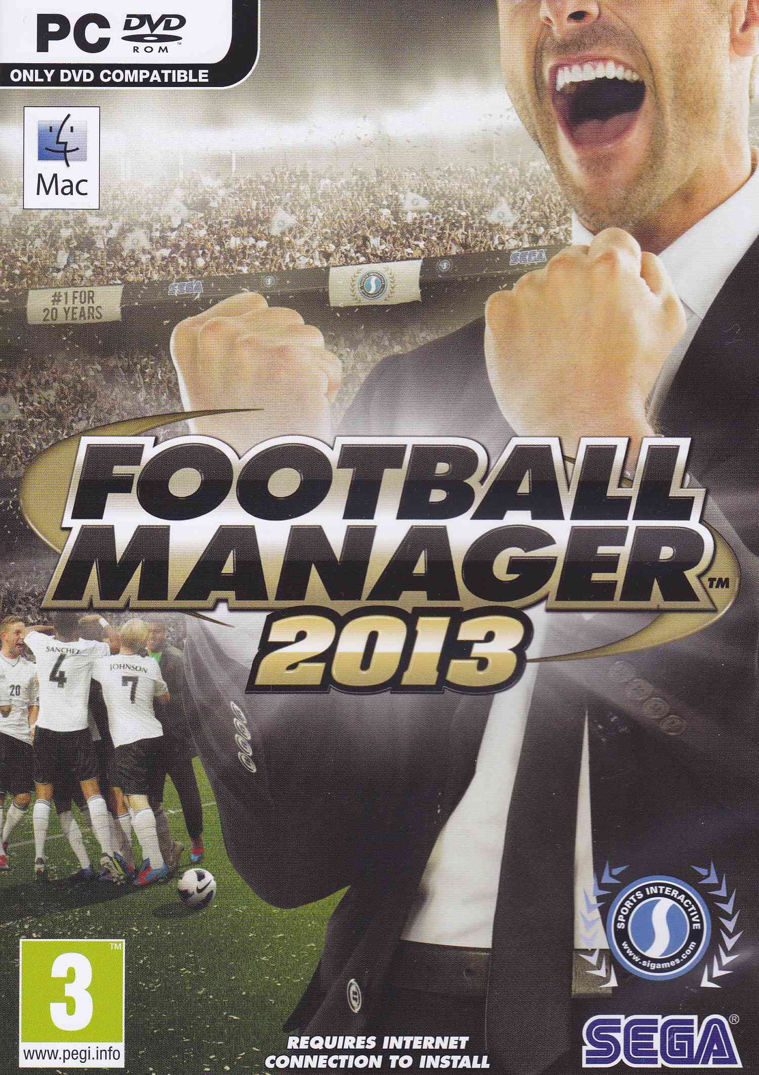 Amazon com: Football Manager 2013 PC Mac: Video Games