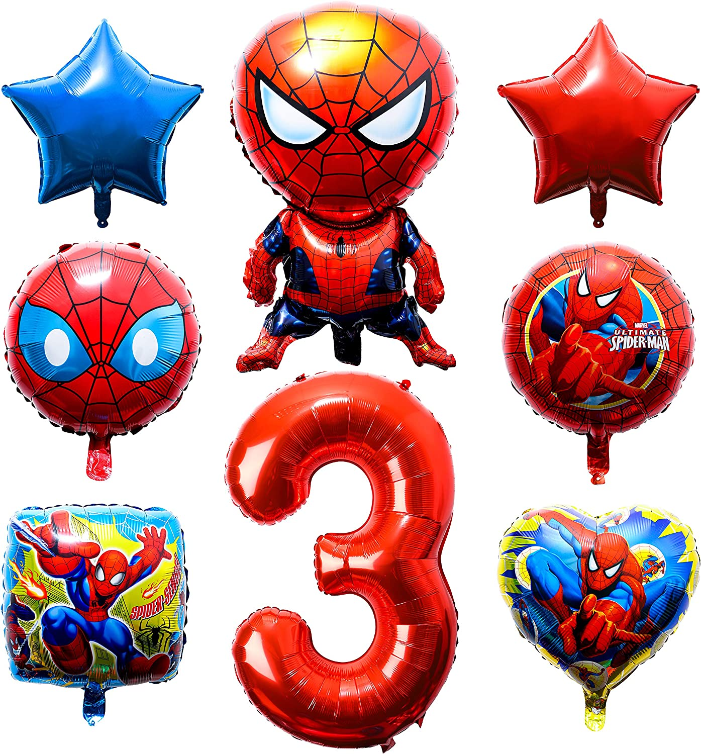 30PCS Super/Hero/Panther Foil Balloons Party Balloons Super/Hero/Panther Themed Birthday Party Decorations Panther Party Supplies Party Favors for Super Hero Fans Kids