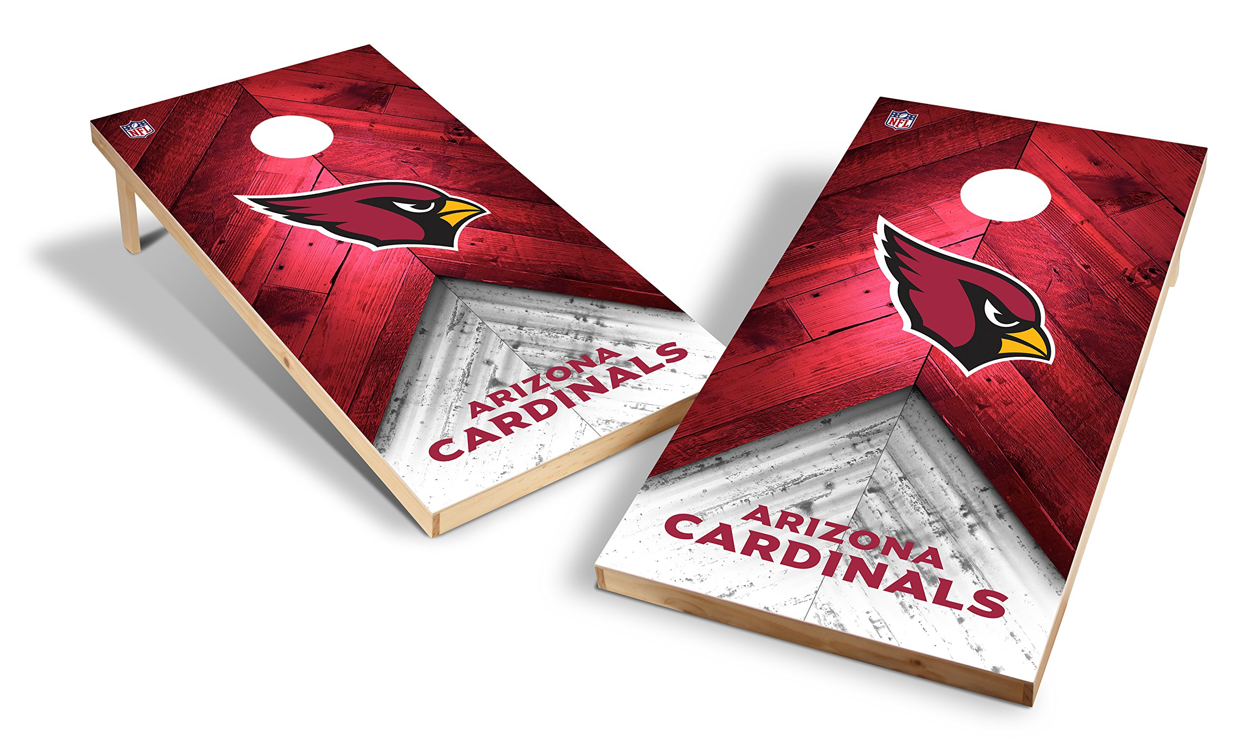 Wild Sports NFL 2'x4' Arizona Cardinals Cornhole Set