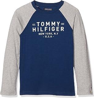 Tommy Hilfiger Boy s Ame Hilfiger Hd Hwk L S Sweatshirt, Red (Rouge ... 1b34eabf4047