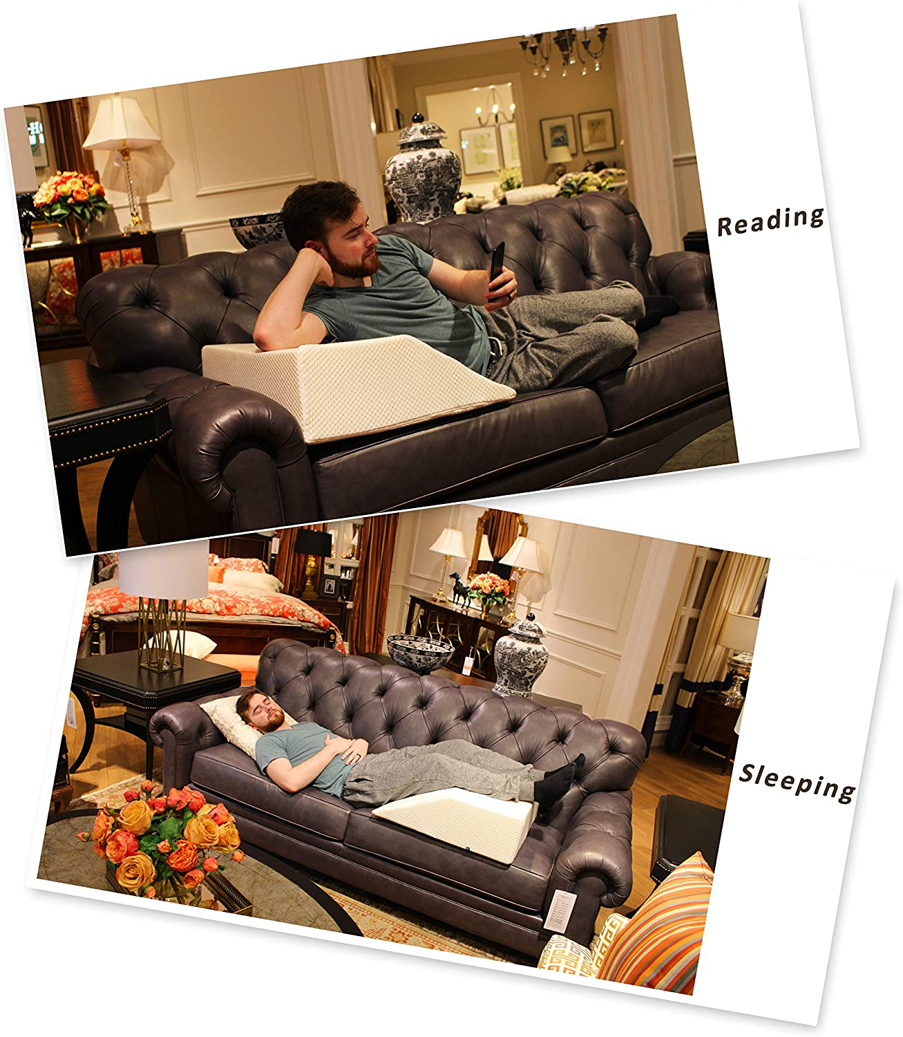 Relax Home Goods Elevated Leg Pillow