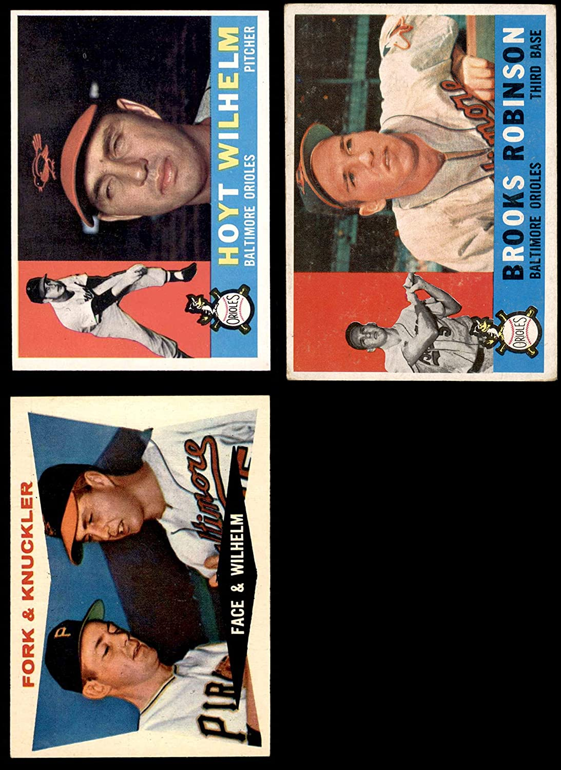 1960 Topps Baltimore Orioles Near Team Set Baltimore Orioles (Baseball Set) Dean's Cards 5 - EX Orioles