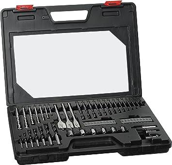 Skil 2607017065 - Estuche de brocas y puntas (60 piezas): Amazon.es: Bricolaje y herramientas