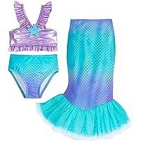 Disney Ariel Deluxe Swimsuit Set for Girls