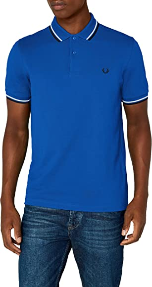 Fred Perry Fp Twin Tipped, Polo para Hombre, Multicolor (Prince ...