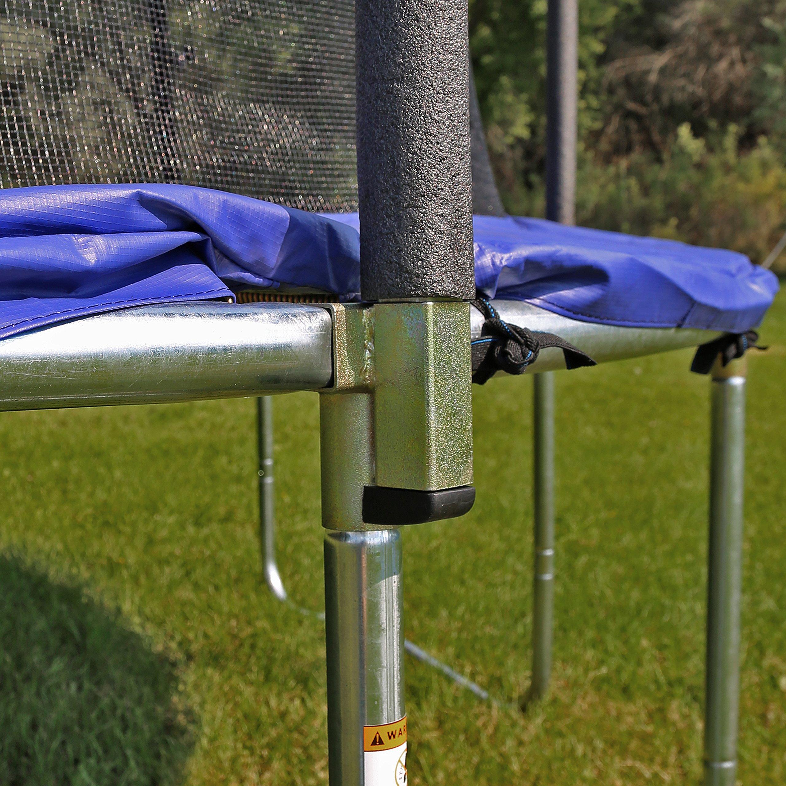 Skywalker Trampolines 12-Foot Jump N' Dunk Trampoline with Enclosure Net - Basketball Trampoline by Skywalker Trampolines (Image #6)