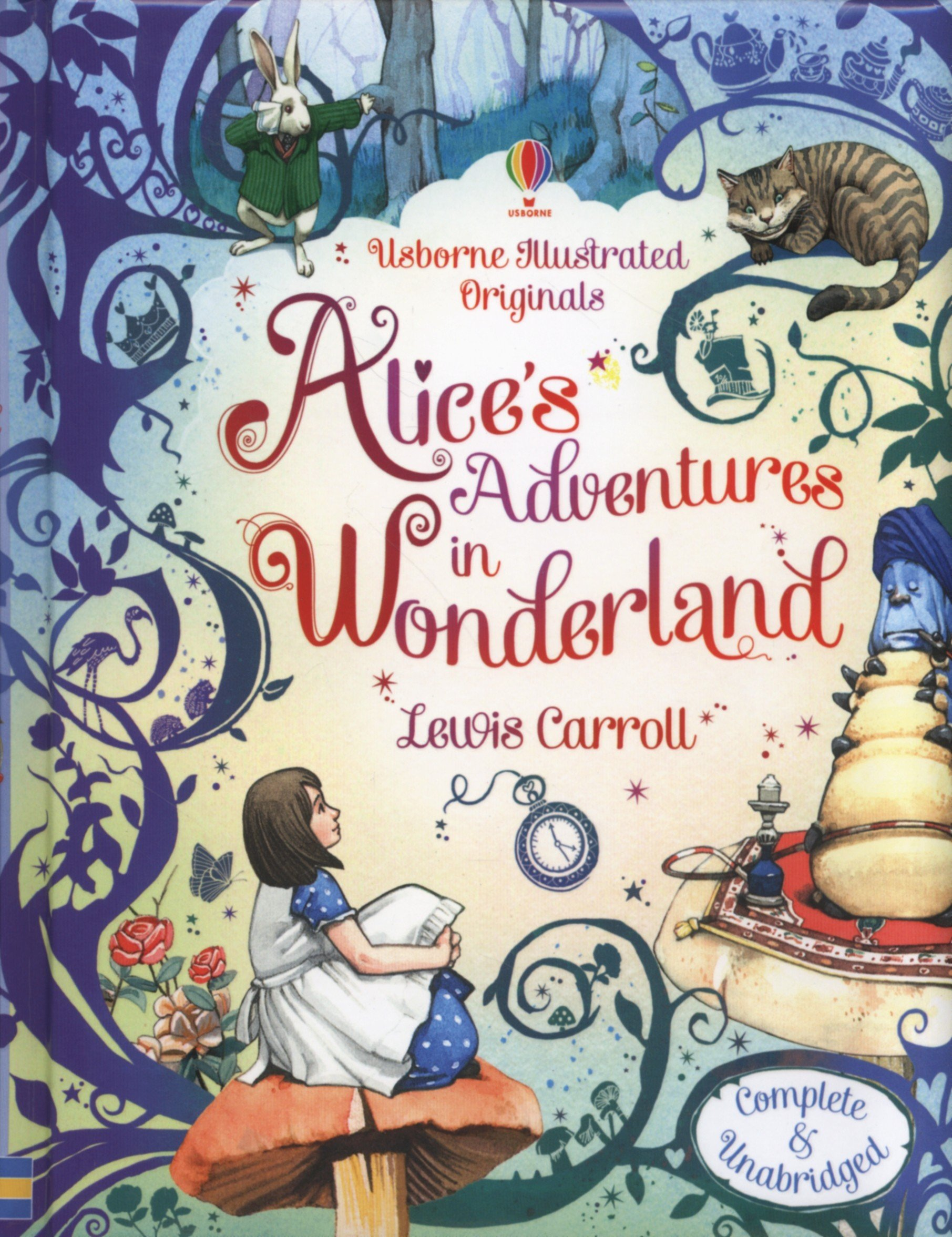 alice s adventures in wonderland and alice Alice is a fictional character and protagonist of lewis carroll's children's novel alice's adventures in wonderland (1865) and its sequel, through the looking-glass (1871) a child in the mid-victorian era, alice unintentionally goes on an underground adventure after accidentally falling down a rabbit hole into wonderland in the sequel, she steps through a mirror into an alternative world.