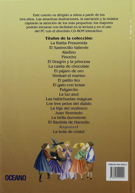 Rapunzel (Cuentos interactivos) (Spanish Edition): Jacob Grimm, Wilhelm Grimm: 9788449429002: Amazon.com: Books