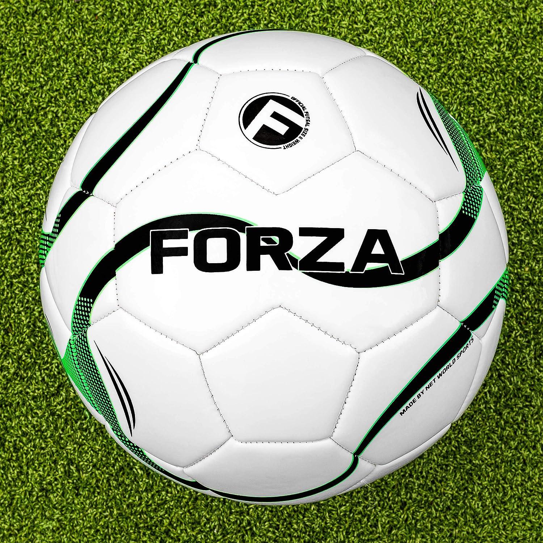 Forza – Pelota de fútbol sala tamaño y peso oficiales para la rápida juego de fútbol sala derecho a su puerta.