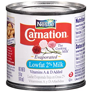 Carnation Lowfat 2% Evaporated Milk, 5 oz