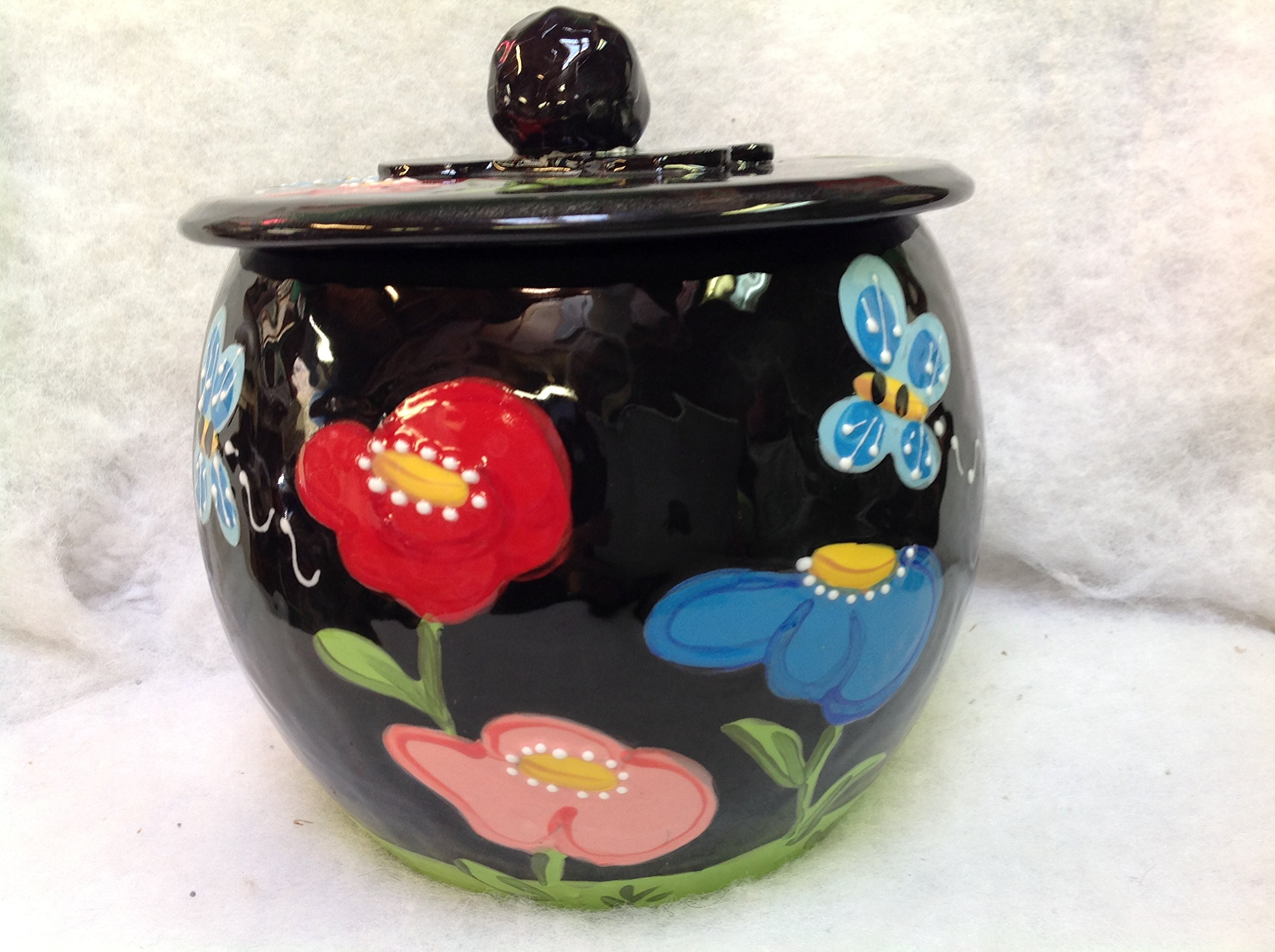 Treat Jar for Pets personalized at no charge and signed by Artist, Debby Carman