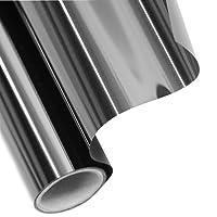 Tönungsfolie Sonnenschutzfolie Fensterfolie 60% SCHWARZ 300x50cm