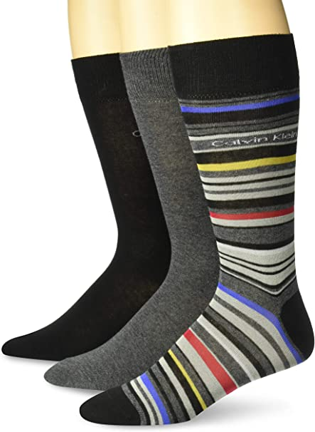 Multi-Color Polo Ralph Lauren Men/'s Socks Dress Solid Crew 3 pack Socks 10-13
