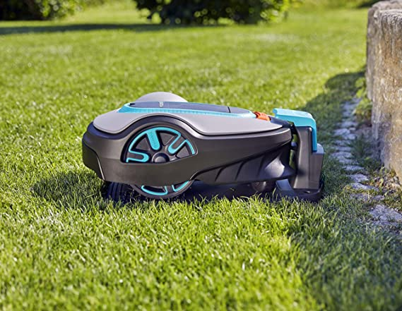 GARDENA Sileno Life 15103-34 Robot cortacésped para superficies de ...