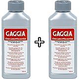 Gaggia Decalcifier Descaler Solution 250ml (2 Bottles)