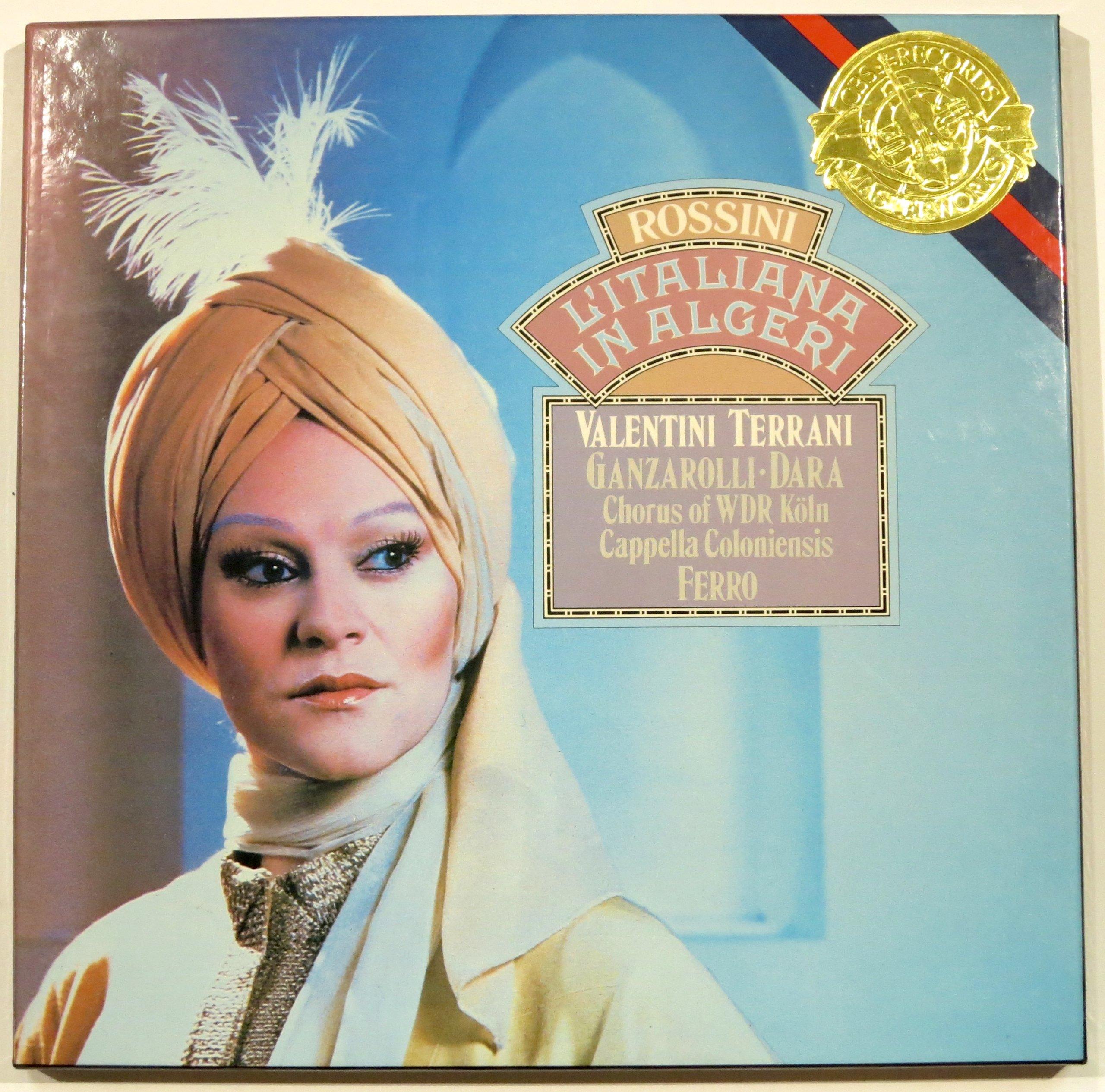 Rossini: L'Italiana In Algeri (The Italian Girl in Algeria) / Capella Coloniensis on Original Instruments, Gabriele Ferro