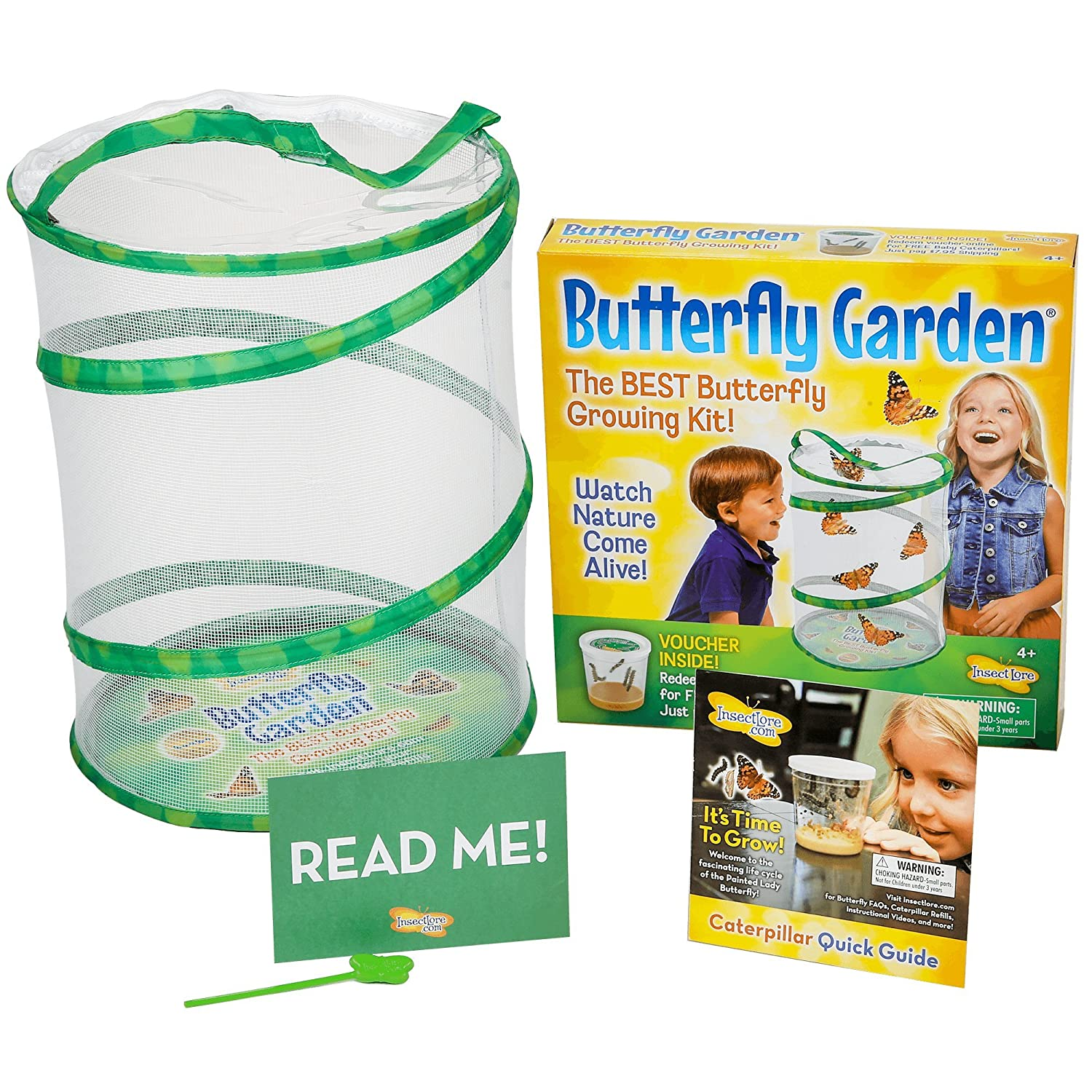 a review on insect lore live butterfly garden - Live Butterfly Garden