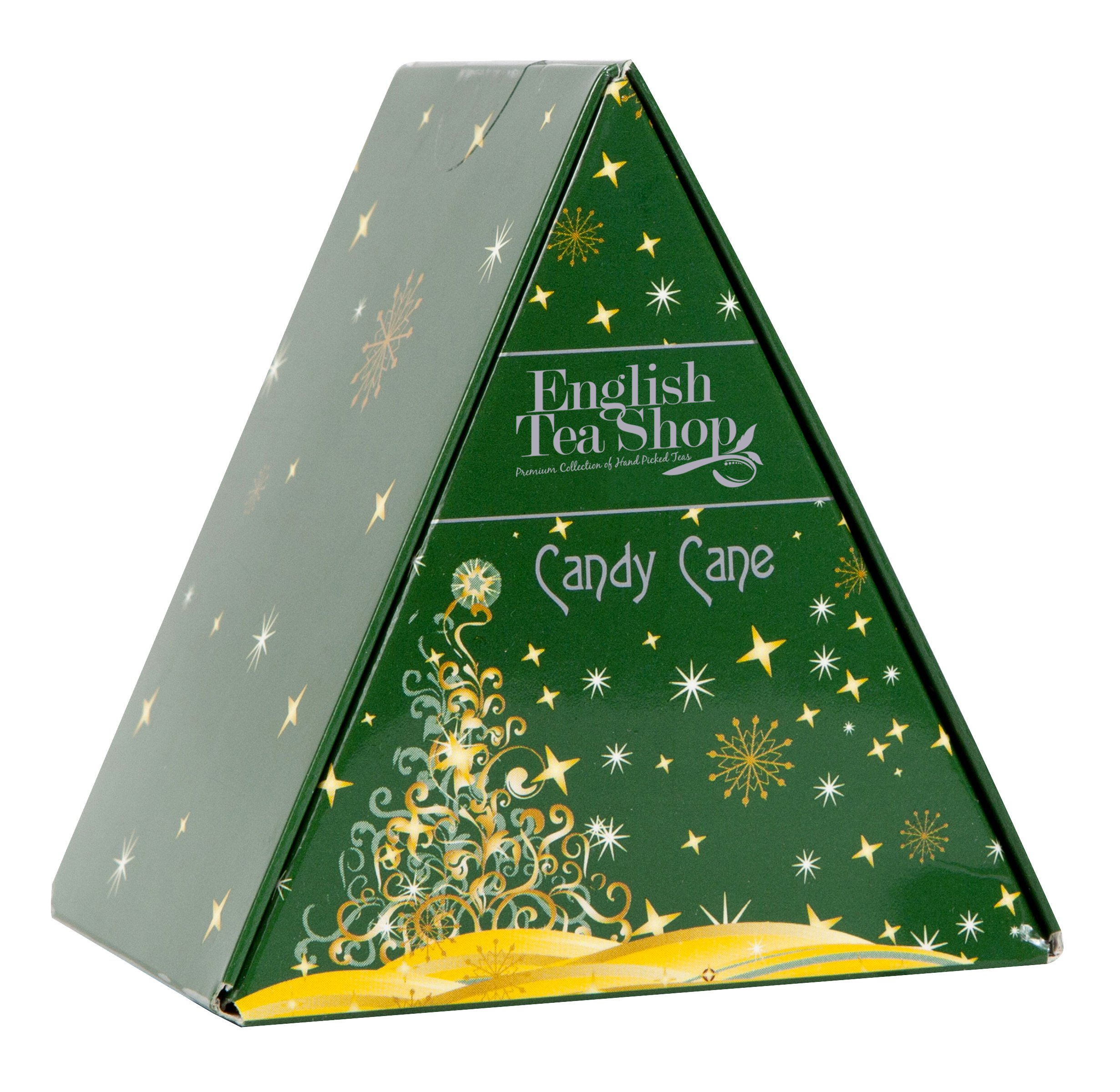 English Tea Shop Candy Cane Nylon Pyramid, 12 Gram
