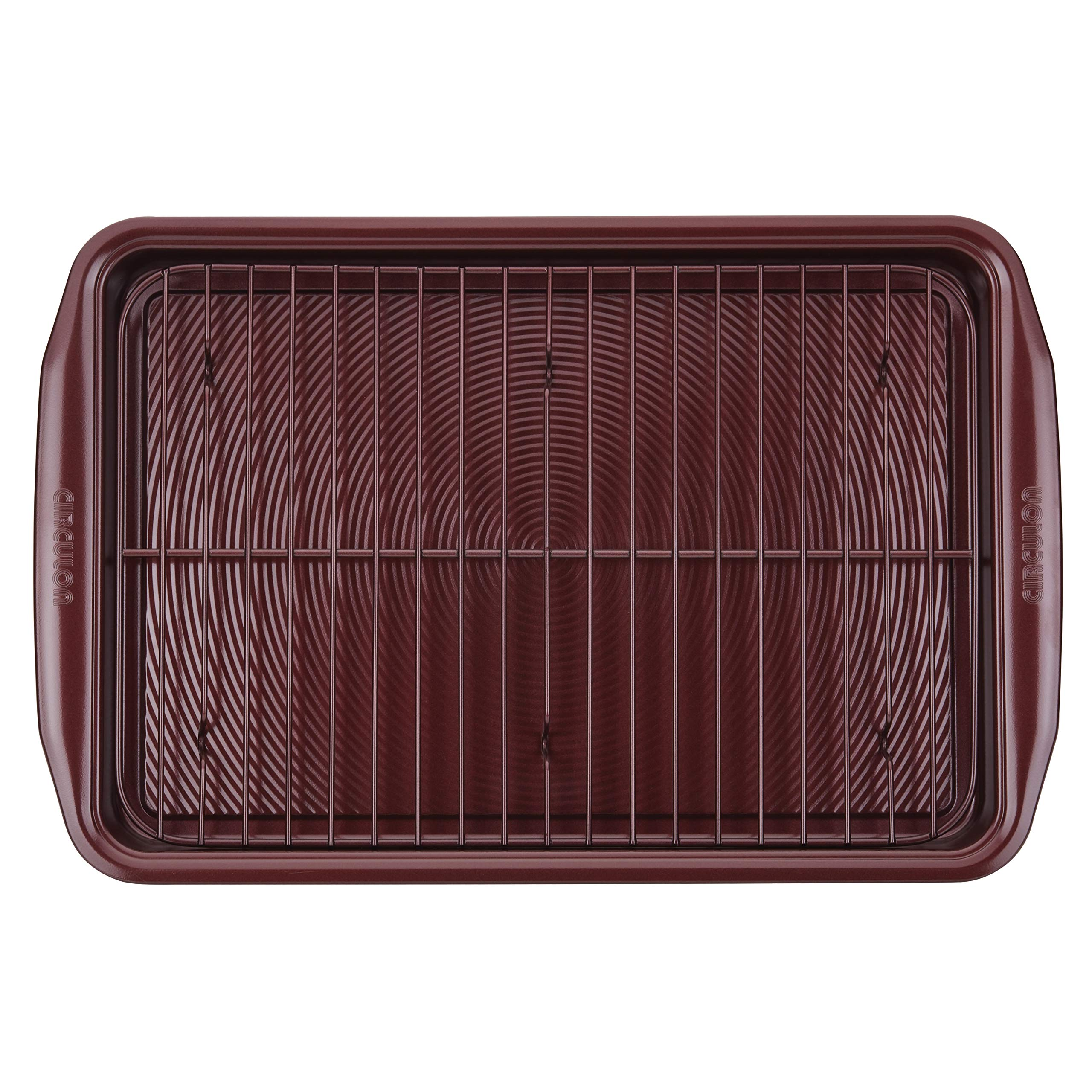 Circulon 47740 10-Piece Steel Bakeware Set, Merlot by Circulon (Image #5)