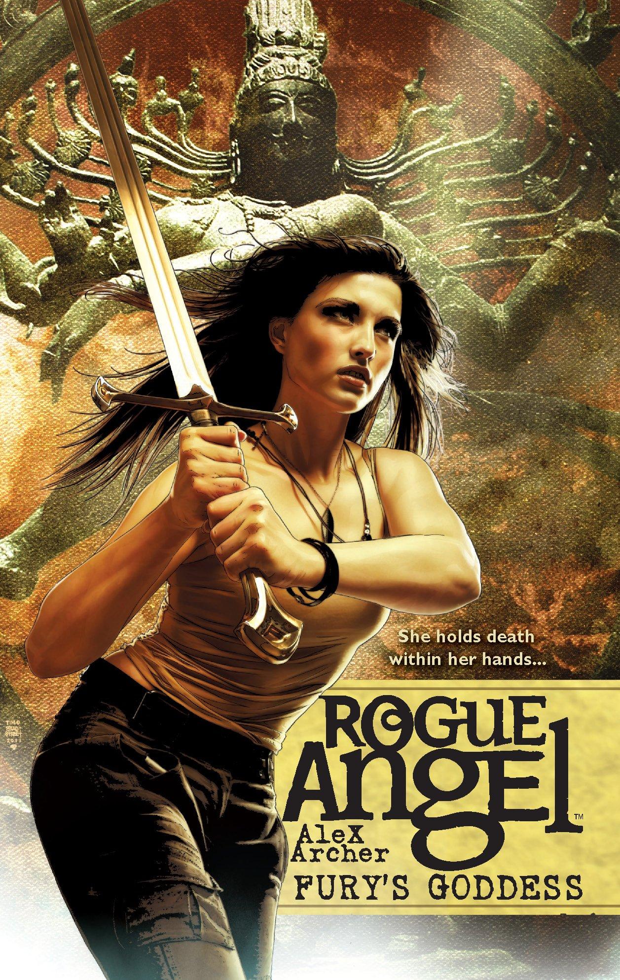 Amazon.com: Fury's Goddess (Rogue Angel) (9780373621552): Alex Archer: Books
