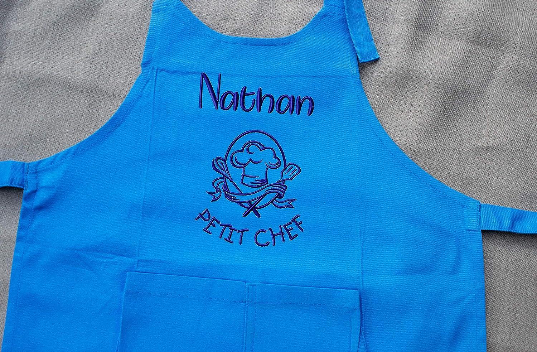 Tablier enfant personnalisé Petit Chef, tablier enfant, tablier cuisine, cadeau personnalisé, cadeau personnalisable cadeau personnalisé
