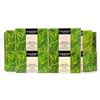 Neem Soap - Handmade Herbal Soap - Pack of 12 (32 Ounces, 2 Pounds) - all Natural - Prevents Premature Aging - Vaadi…
