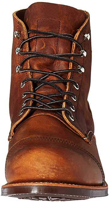 Red Wing Mens Iron Ranger 8085 Copper Leather Boots 41.5 EU