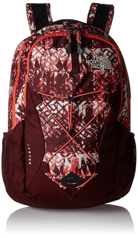 a7e16d75bda Amazon.com: The North Face Women's Women's Jester Deep Garnet Red Ethnique  Print/Deep Garnet Red Backpack: Computers & Accessories