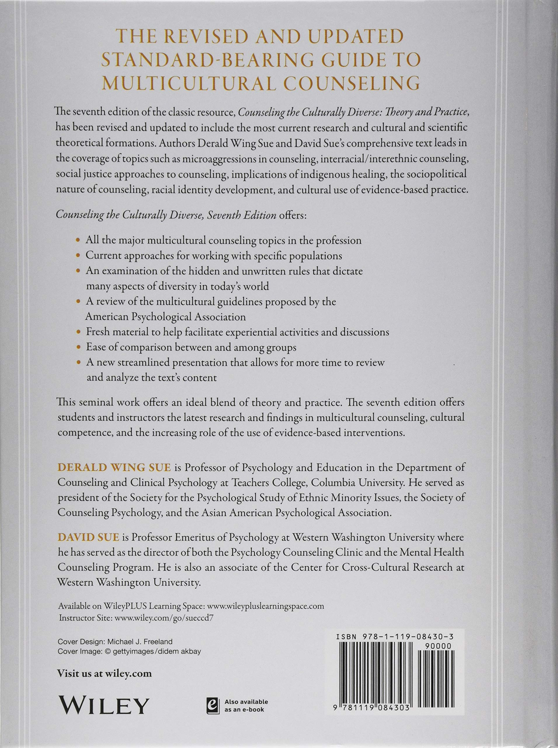 Counseling the Culturally Diverse: Theory and Practice ...