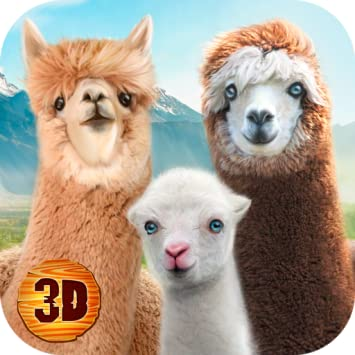 Amazon com: Alpaca World Simulator 3D: Ultimate Animal Game