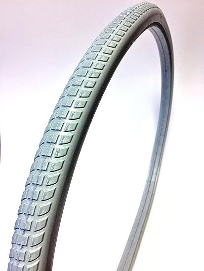 Fauteuil roulant Roue Fauteuil pneu 24X1 3//8 24 x 1 3//8 Gray
